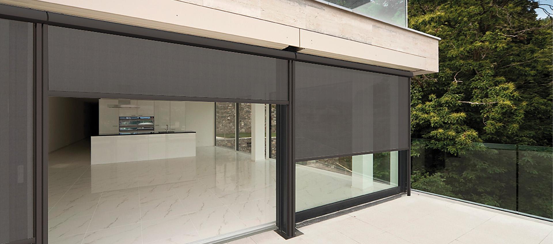Instalación de cortinas de exterior