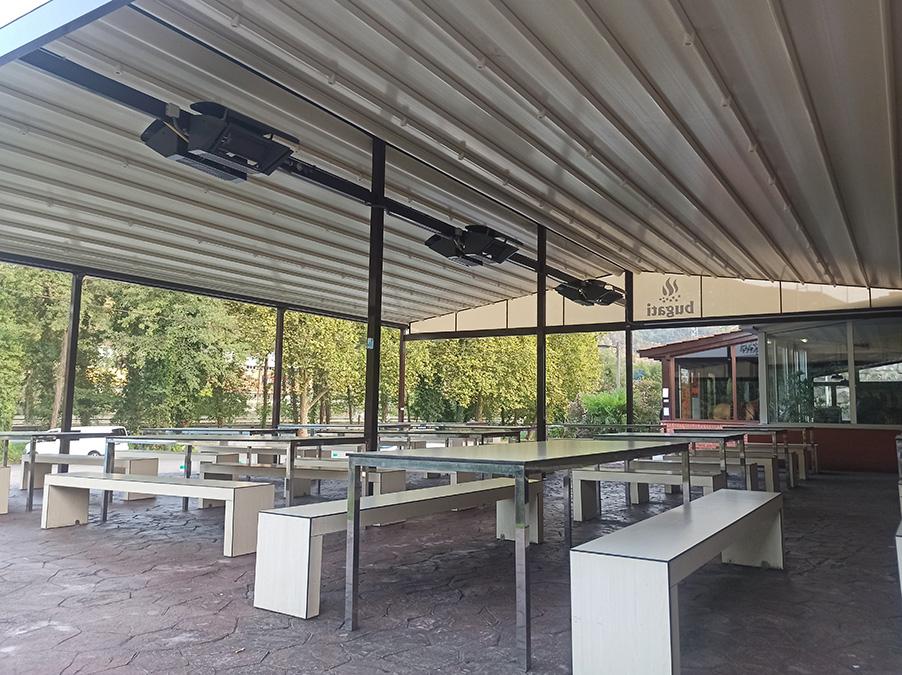 Instalación corredero técnico de grandes dimensiones en Gipuzkoa